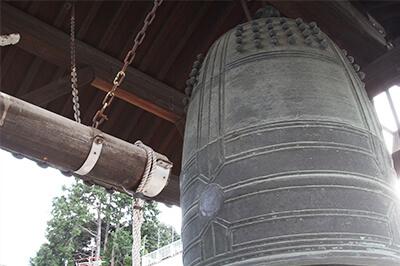 石山本願寺梵鐘